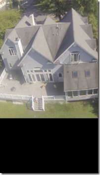 drone house shot