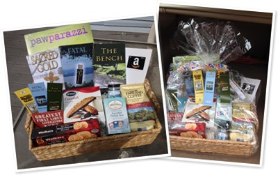 View Curl Up with some Great Books Gift Basket