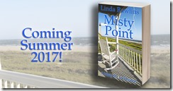 MISTY POINT RECTANGLE BOOK COVER
